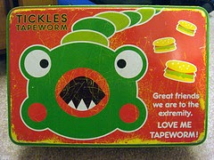 love me tapeworm! by kaelyn, Flickr